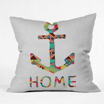 Bianca Green You Make Me Home Indoor/Outdoor Throw Pillow Size: 18 W