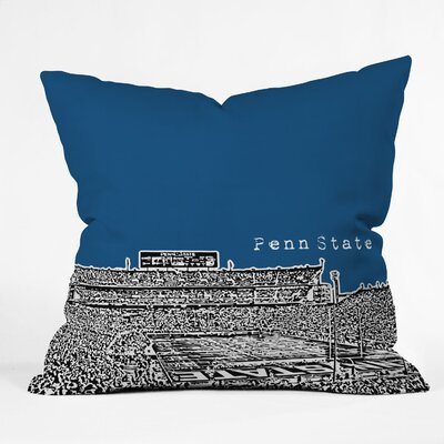 Bird Ave University Indoor/Outdoor Throw Pillow Size: 20 W, University: Penn State University