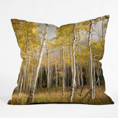 Bird Wanna Whistle Aspen Throw Pillow Size: 18 x 18