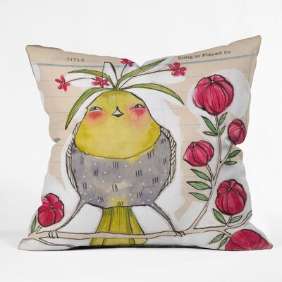 Sweetness And Light Outdoor Throw Pillow Size: 26 x 26