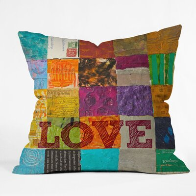 Elizabeth St Hilaire Nelson Love Throw Pillow Size: Large