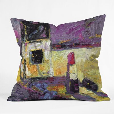 Ginette Fine Art Coco Indoor/Outdoor Throw Pillow Size: Large