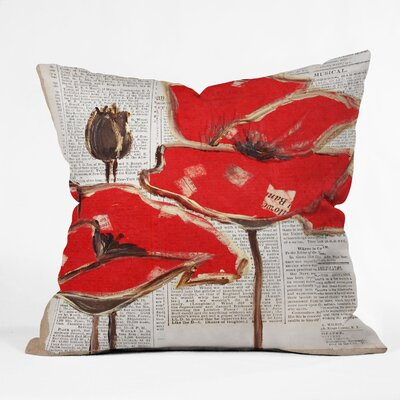 Shumake Perfection Outdoor Throw Pillow Size: 20 H x 20 W