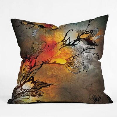 Iveta Abolina Before The Storm Throw Pillow Size: 16 x 16