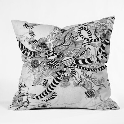 Iveta Abolina Play Throw Pillow Size: 16 x 16