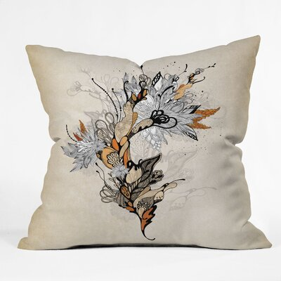Iveta Abolina Floral Throw Pillow Size: 16 x 16