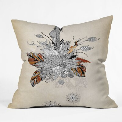 Iveta Abolina Floral Throw Pillow Size: 18 x 18