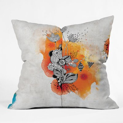 Iveta Abolina Forbbiden Thoughts Throw Pillow Size: 16 x 16