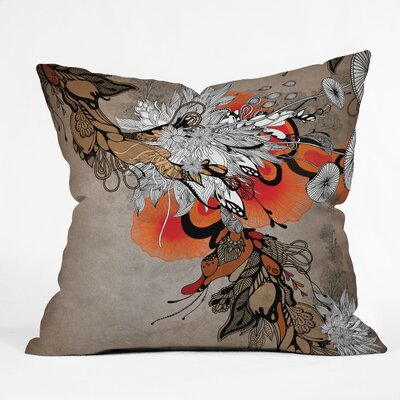 Iveta Abolina Sonnet Throw Pillow Size: 18 x 18