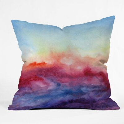 Jacqueline Maldonado Arpeggi Throw Pillow Size: 18 x 18