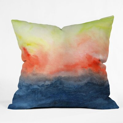 Jacqueline Maldonado Brushfire Throw Pillow Size: 16 x 16