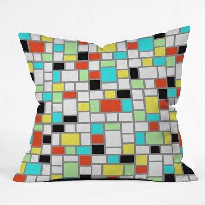 Jacqueline Maldonado Geo Indoor/Outdoor Throw Pillow Size: 18