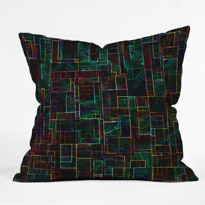 Jacqueline Maldonado Matrix Throw Pillow Size: 18 x 18