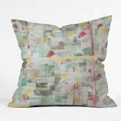 Jacqueline Maldonado Mosaic Throw Pillow Size: 18 x 18
