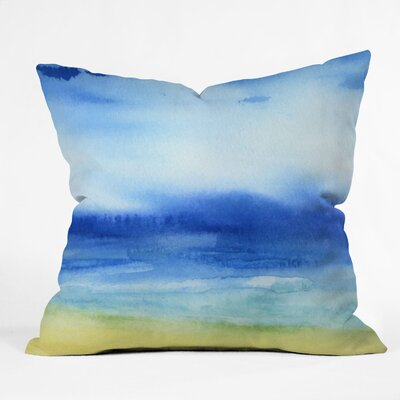 Jacqueline Maldonado Sea Church Throw Pillow Size: 18 x 18
