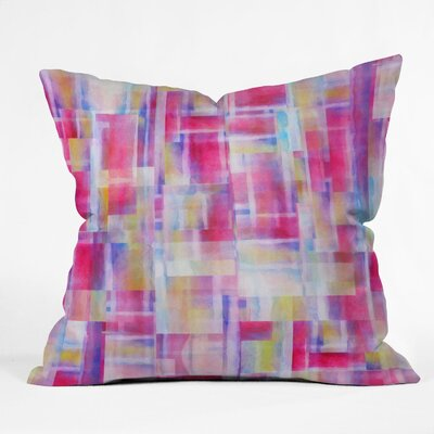 Jacqueline Maldonado Space Between Throw Pillow Size: 16 x 16