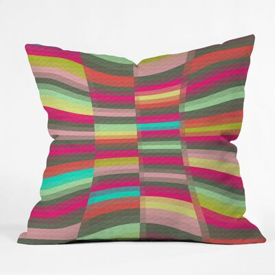 Jacqueline Maldonado Spectacle Throw Pillow Size: 18 x 18