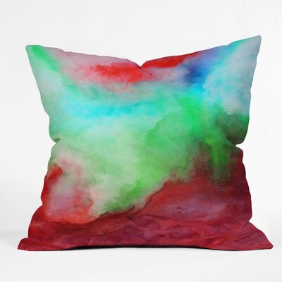 Jacqueline Maldonado the Sea Throw Pillow Size: 18 x 18