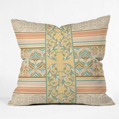 Jacqueline Maldonado Vintage Stripe hrow Pillow Size: 16 x 16