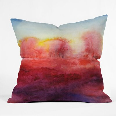 Jacqueline Maldonado Where I End Throw Pillow Size: 18 x 18