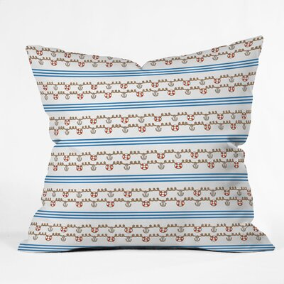 Jennifer Denty Anchor Throw Pillow Size: 16 x 16
