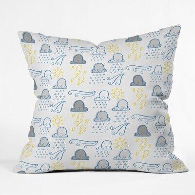 Jennifer Denty Clouds Throw Pillow Size: 16 x 16