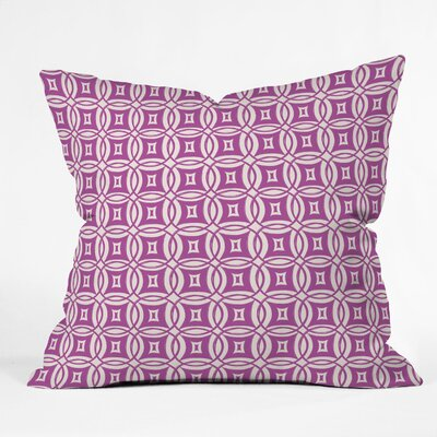 Khristian A Howell Desert Twilight Throw Pillow Size: 18 x 18, Color: Purple