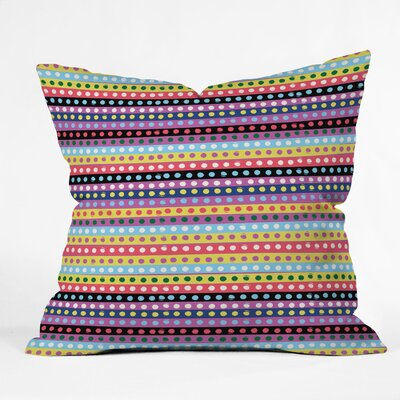 Khristian A Howell Valencia 04 Indoor/Outdoor Throw Pillow Size: 18