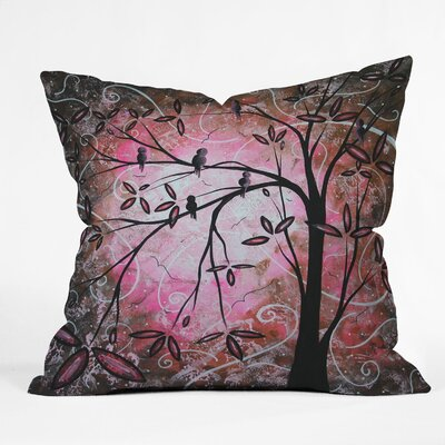 Square Throw Pillow Size: 20 x 20