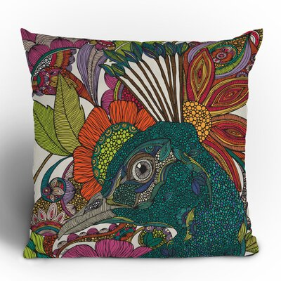 Valentina Ramos Alexis and the Flowers Throw Pillow Size: 18 H x 18 W