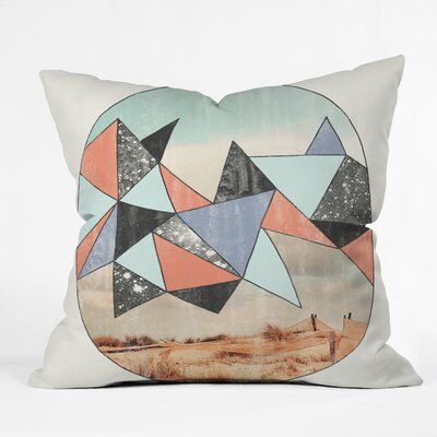 Wesley Bird Dry Spell Throw Pillow Size: 20