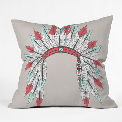 Wesley Bird Dressy Throw Pillow Size: 20 x 20