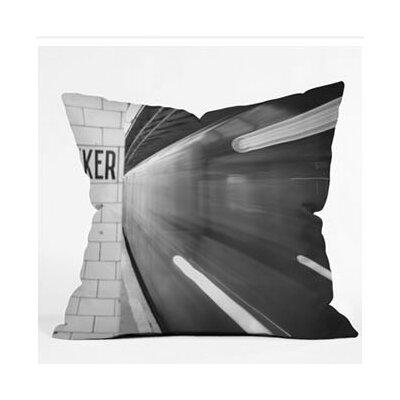 Leonidas Oxby The Subway Euro Pillow