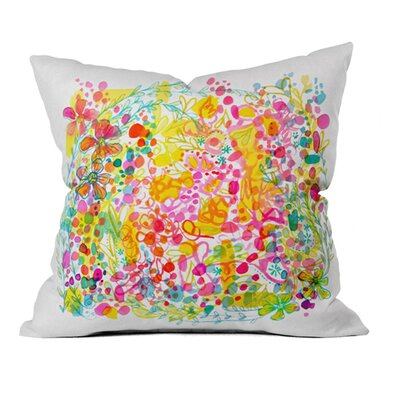 Stephanie Corfee Bubble Garden Outdoor Throw Pillow