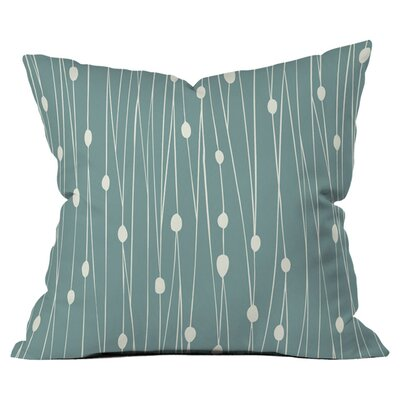 Heather Dutton Entangled Outdoor Throw Pillow Size: 18 H x 18 W x 4 D