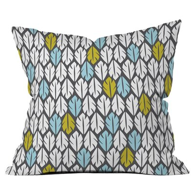Heather Dutton Foliar Throw Pillow Size: 18 H x 18 W x 4 D