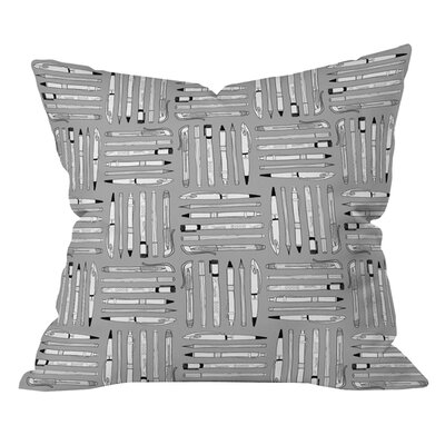 Bianca Green Weapons of Mass Creation Outdoor Throw Pillow Size: 26 H x 26 W