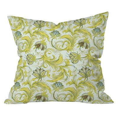 Sabine Reinhart Garden of Delight Outdoor Throw Pillow Size: 26 H x 26 W