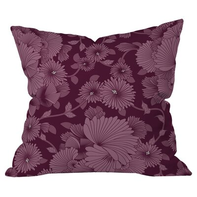 Sabine Reinhart Nocturnal 2 Outdoor Throw Pillow Size: 18 H x 18 W