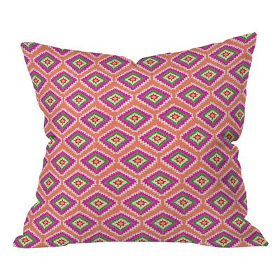 Bianca Aztec Fiber 6 Outdoor Throw Pillow Size: 18 H x 18 W
