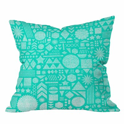 Nick Nelson Modern Elements Outdoor Throw Pillow Size: 16  H x 16 W