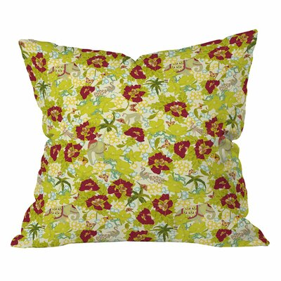 Sabine Reinhart Amodini Outdoor Throw Pillow Size: 18 H x 18 W