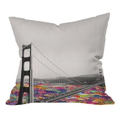 Bianca Green Its in the Water Outdoor Throw Pillow Size: 18 H x 18 W