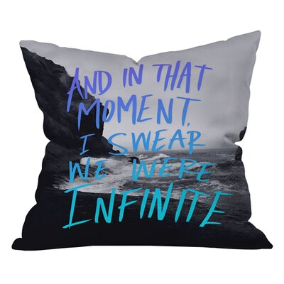 Leah Flores Infinite Outdoor Throw Pillow Size: 26 H x 26 W
