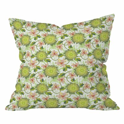 Sabine Reinhart Near the River Outdoor Throw Pillow Size: 26 H x 26 W