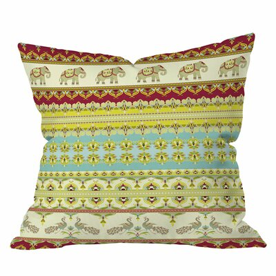 Sabine Reinhart Sajili Outdoor Throw Pillow Size: 18