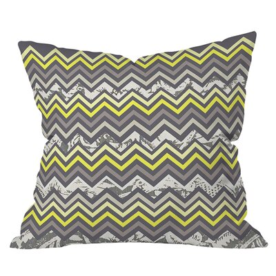 Arcturus Chevron Outdoor Throw Pillow Size: 18 H x 18 W