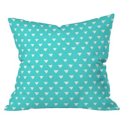 Bianca Geometric Confetti Throw Pillow Size: 16 H x 16 W