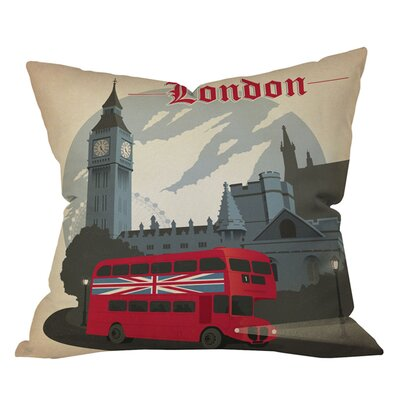 Anderson Design Group London Pillow Size: 18 x 18
