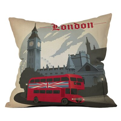 Anderson Design Group London Throw Pillow